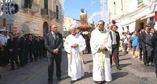 CAsamassima- Casamassima-Manca poco a San Rocco-La processione nel 2012 (foto Cristantielli)