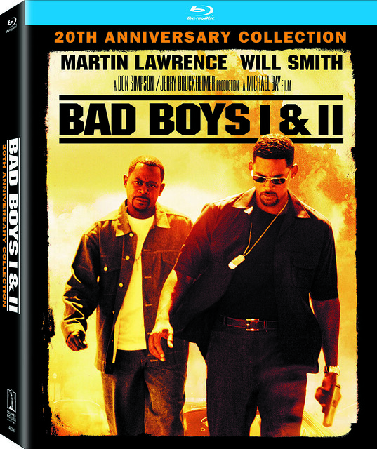 Bad Boys 20th Anniversary Blu-ray