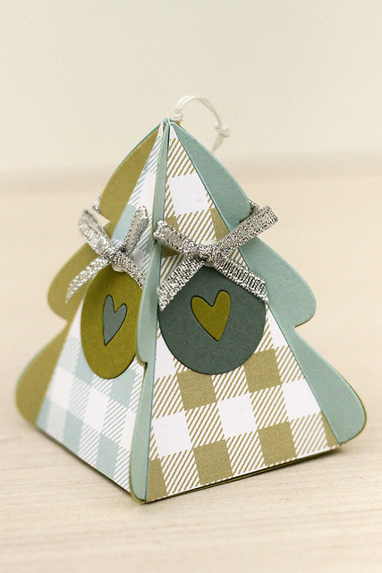 Christmas Tree Change Up Box Die paper ornament