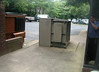 20130731 1540 - Clint's last day at Reston - smoking area - dumpsters - IMG_5230