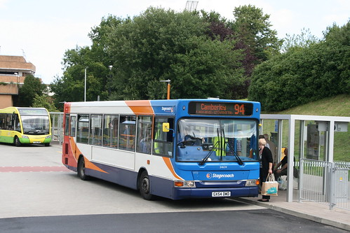 Stagecoach South 34634 on Route 94, Bracknell