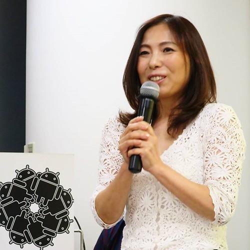 岩手未来機構の杉田さん。