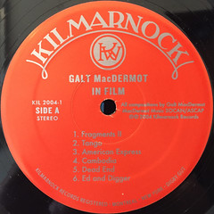 GALT MACDREMOT:IN FILM(LABEL SIDE-A)