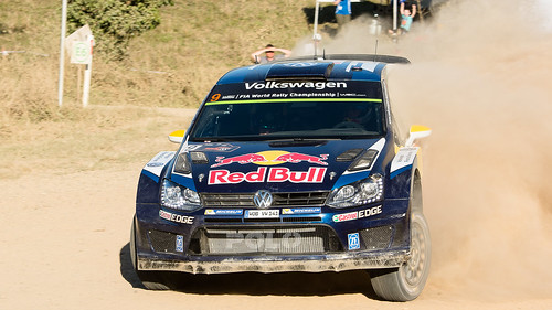 Andreas Mikkelson, Rally Australia 2015 Day 2