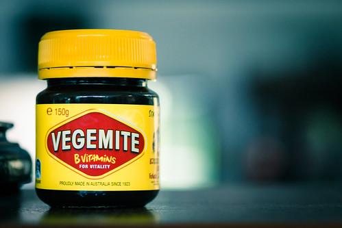 I love Vegemite!