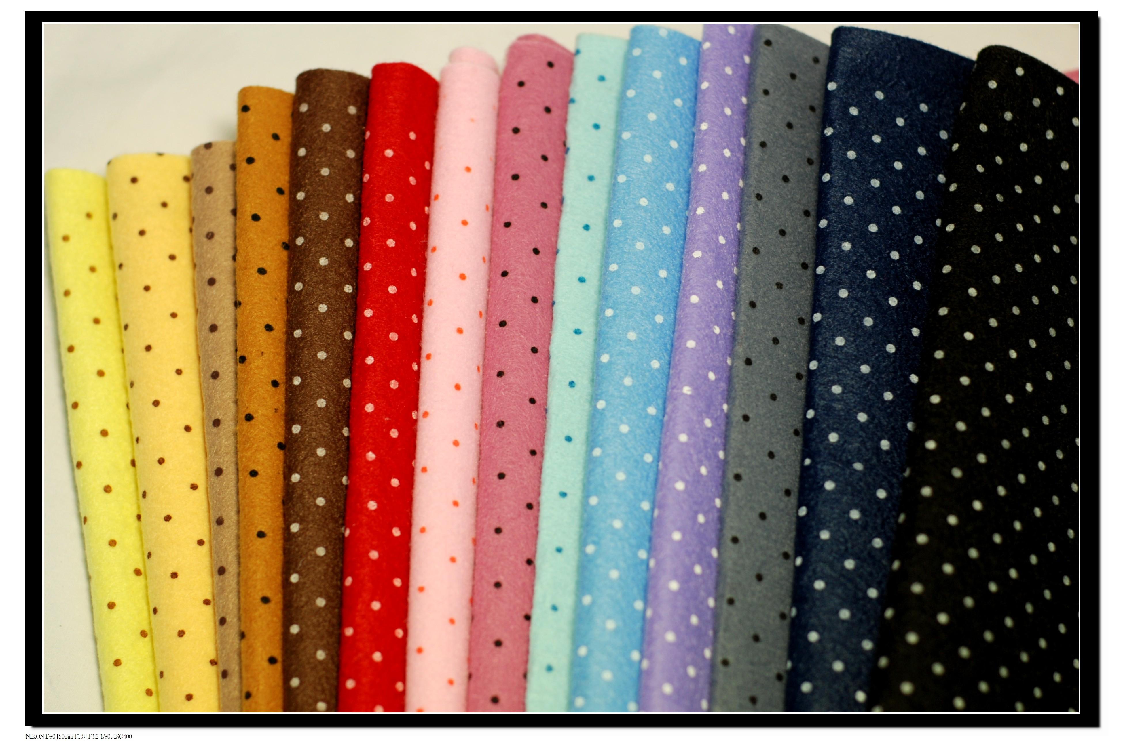 P40 系列點點不織布 水玉 硬質不織布 手工藝DIy布料