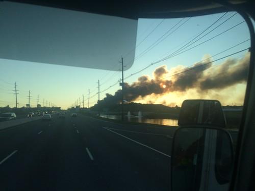 North Brunswick Warehouse Fire