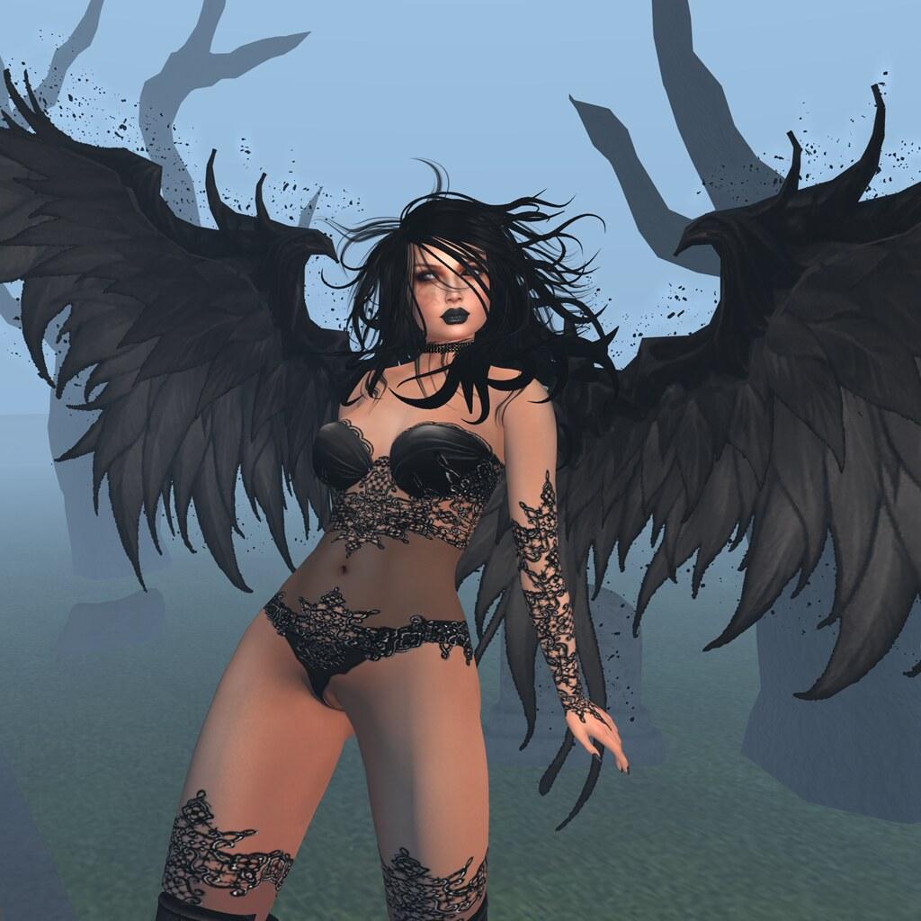 Dark Angel , Carries Lingerie
