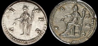 Ceres on coins
