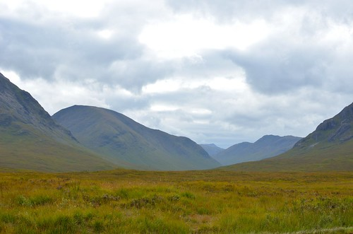 Our first view of Glencoe from a distance