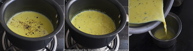 How to make Pepper Turmeric Milk - Step2