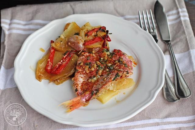 Salmonetes al horno www.cocinandoentreolivos.com (19)