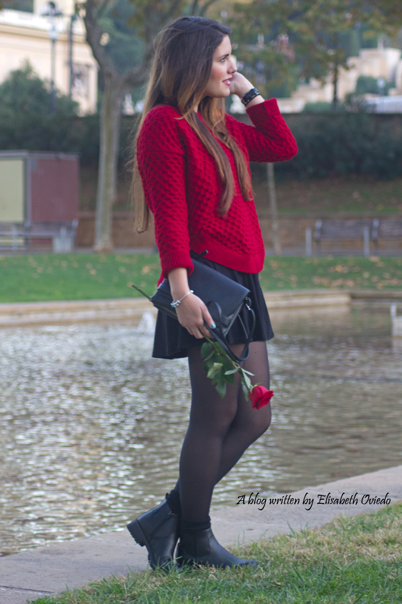 black dress y jersey rojo - HEELSANDROSES (5)