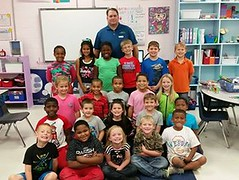Jason Bowlan, First Security Bank - Chickasaw Elementary School - Jentri Ray - 2nd grade class