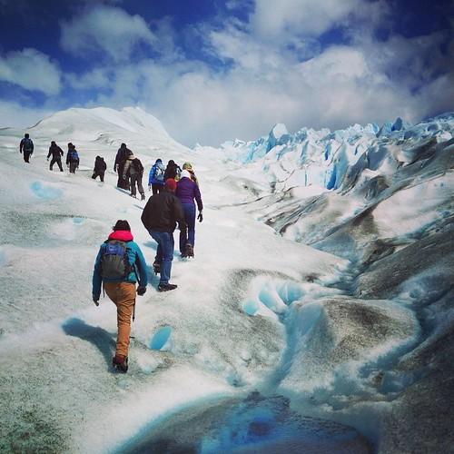 Today's trek #peritomorenoglacier #patagonia #patagonianicefield #provinciasantacruz #elcalafate #argentina