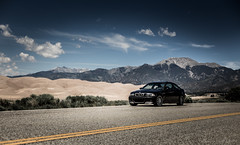 E46 M3 at Sand Dunes National Park