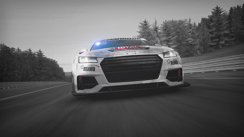 R3E Audi Sport TT Cup Push-to-Pass