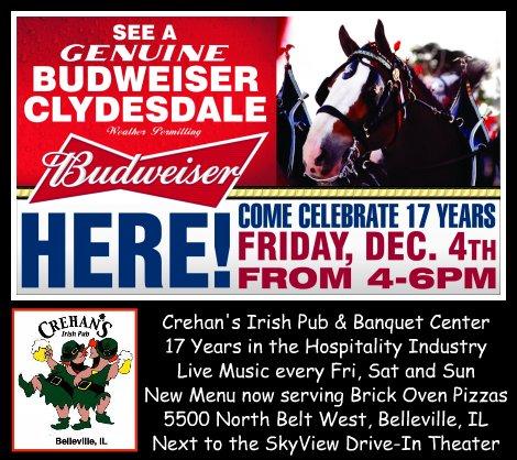Crehan's Celebration 12-4-15