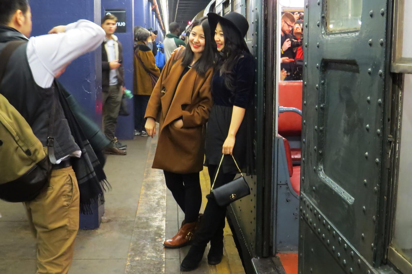 Retro subway, NY