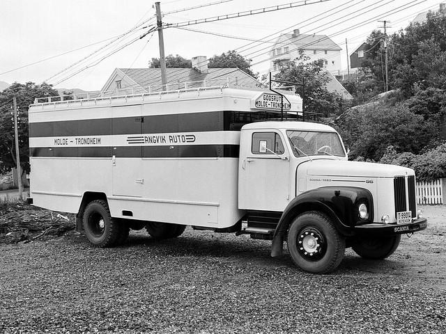 Грузовик Scania-Vabis L56. 1962 год