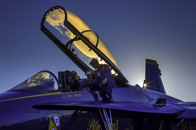 Sunrise with the Blue Angels
