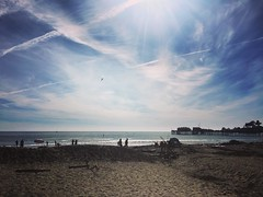 I really like to post pictures of the beach, but can you blame me? #capitola #california #pacific #cycling #fall #cameraplus #iphone6s #mayfair
