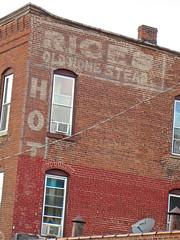 Rice's Old Homestead Hotel, Oneida, NY
