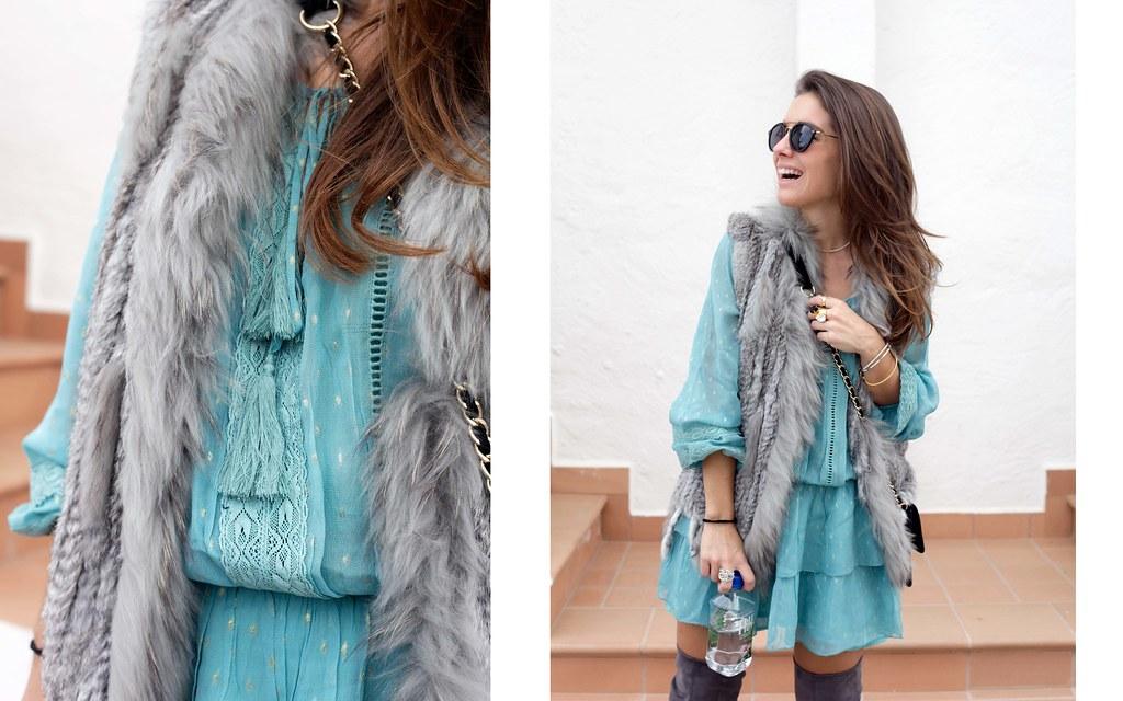 016_vestido_turquesa_y_botas_altas_girses_casual_look_theguestgirl_fashion_blogger_barcelona