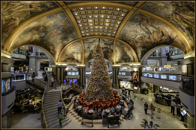 Navidad en Galerías Pacífico