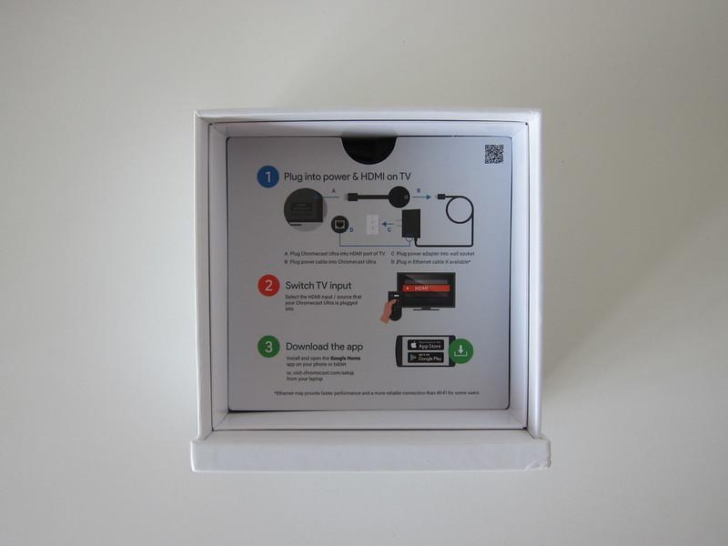 Google Chromecast Ultra - Box Open