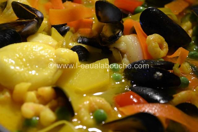Soupe de Poisson au Lait de Coco  © Ana Luthi Tous droits réservés 034