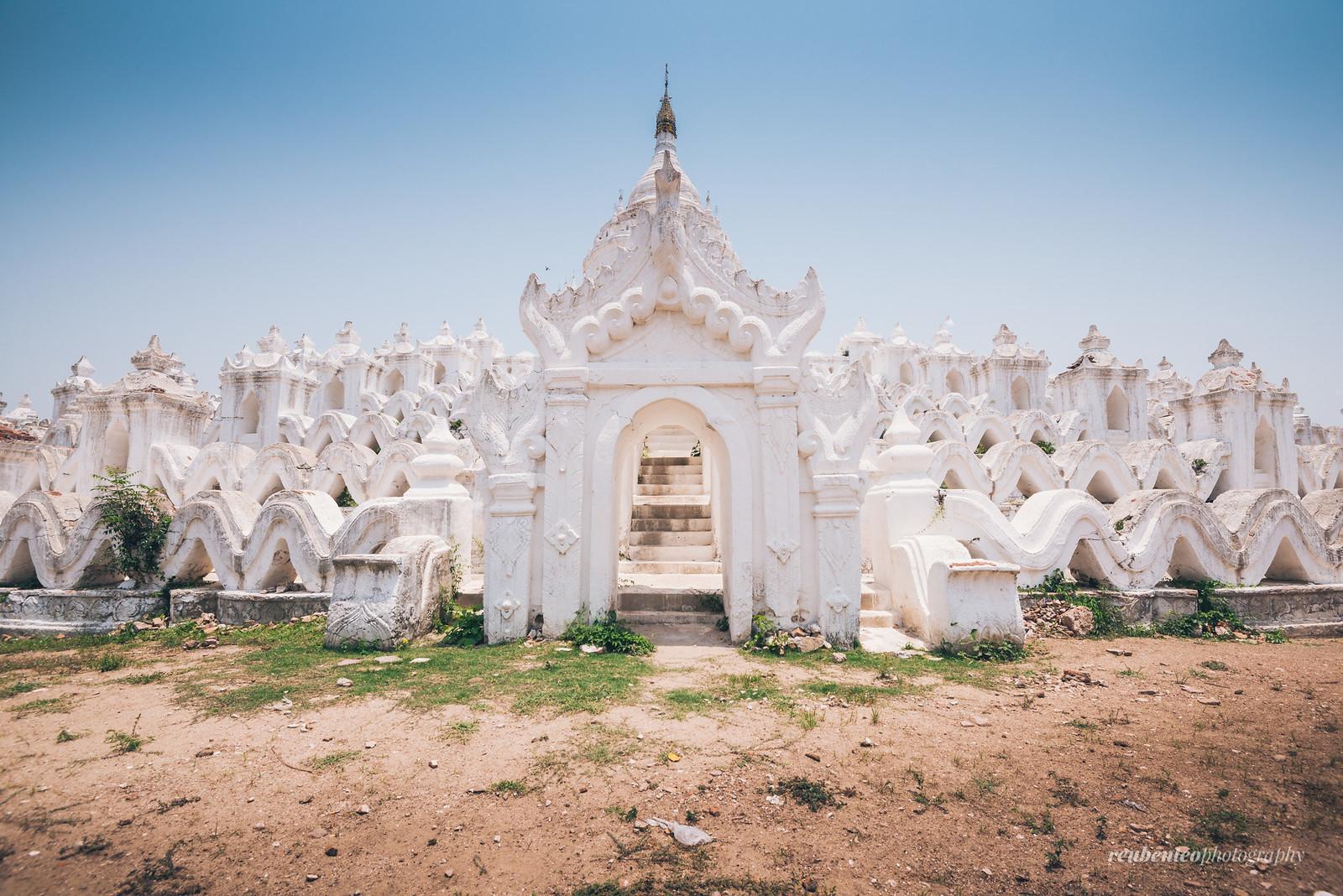 Hsinbyume Pagoda, Mingun, Mandalay