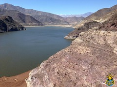 Puclaro Reservoir dam, Elqui Valley