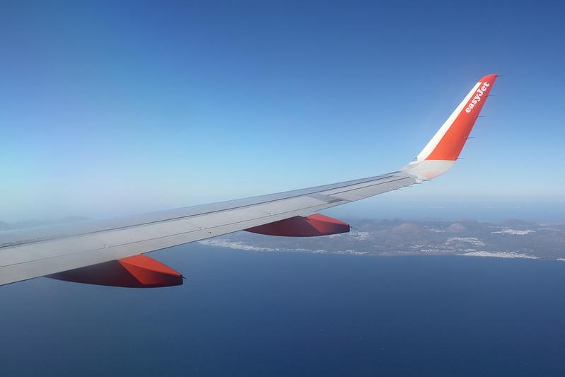Approaching Lanzarote