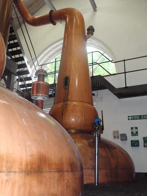 Stills  at Tobermory distillery
