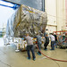 JWST's Instrument Model Heads Out of the Cleanroom for Testing by James Webb Space Telescope