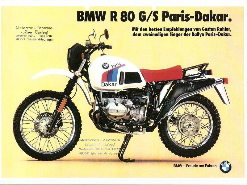 BMW R80 G/S Paris-Dakar