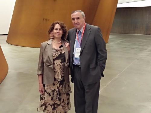 Carmen de la Sen y Mikel Agirregabiria