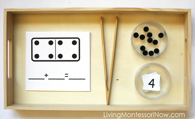 Domino Addition Tray