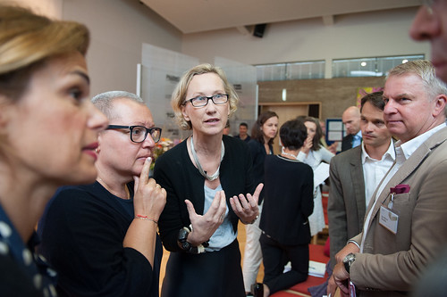 Ideas against Inequality, discussion with BM Sabine Oberhauser (Photo: Luiza Puiu)