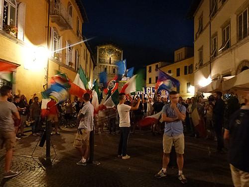 manif à Lucca