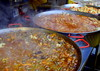 Bolton Food Festival 2015 - pans of steaming food