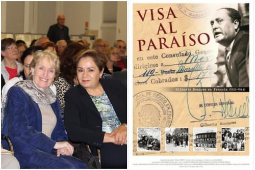 """Lillian Liberman proyecta """"Visa al paraíso"""" en la Embajada de México en Alemania"""