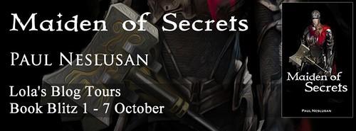 Maiden of Secrets banner