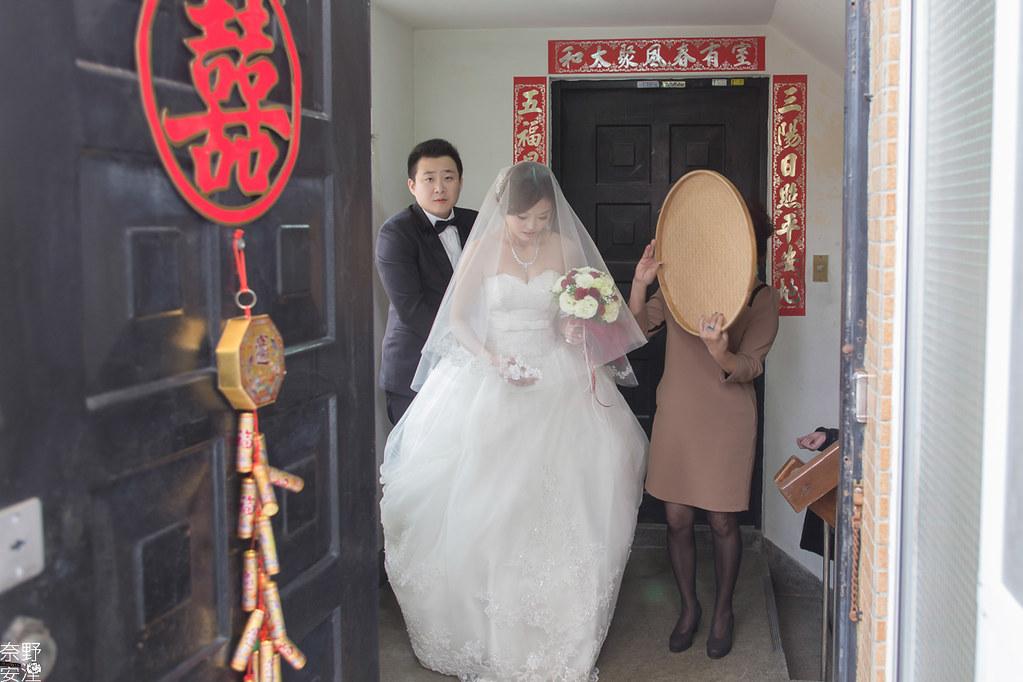 台南婚攝-瀚輝.舒婷-早迎娶文宴-X-台南大飯店-64
