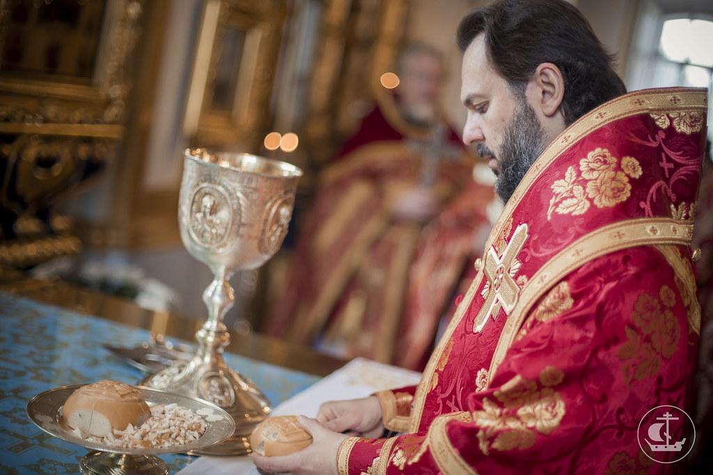 15 сентября 2015, Литургия в Николо-Богоявленском морском соборе / 15 September 2015, Divine Liturgy in the St. Nicholas Naval Cathedral