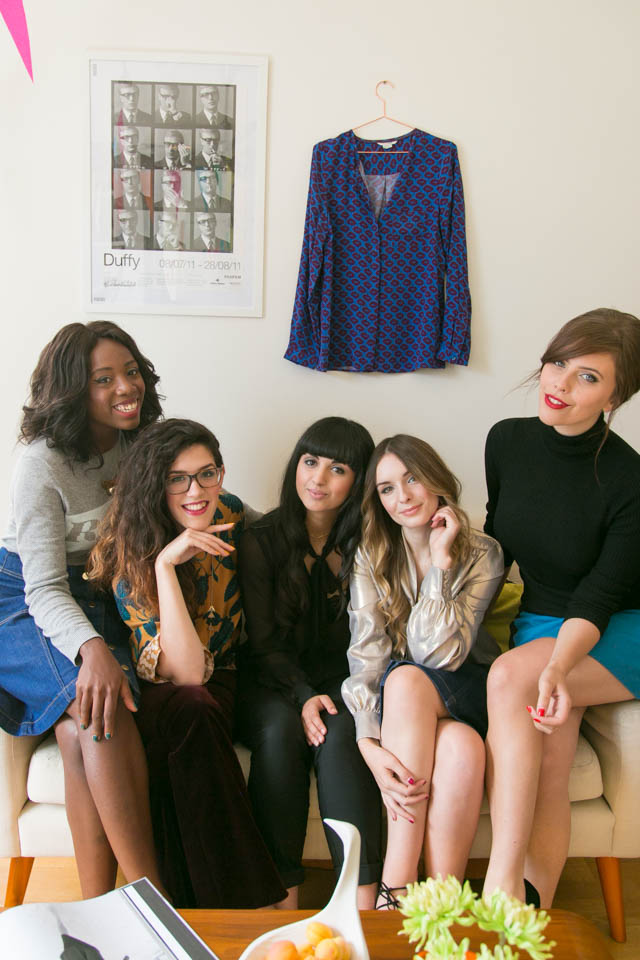 Kristabel Carrie Lucy Dunya Olivia bloggers