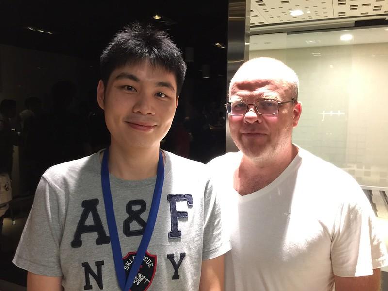 PHPConf.Asia 2015 - Rasmus Lerdorf and I