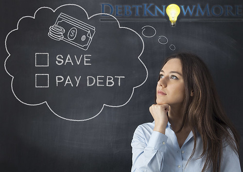 Save or Should You be Paying Off Debt?