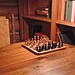 Small photo of Time for a chess game!
